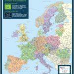 European Postcode Map