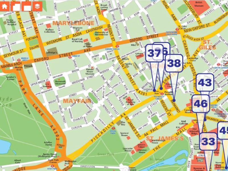 Interactive Maps Service