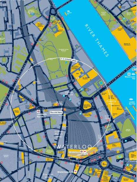 Key Traffic Route Custom Map