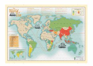 World Tea Map